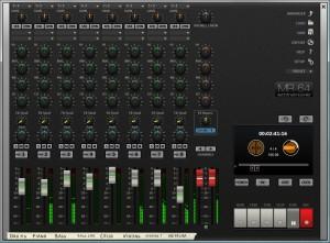 Der Multitrackrecorder vom MusicStudio